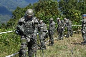 Lính Hàn Quốc chết do đạn bắn vào đầu ở trạm gác biên giới với Triều Tiên