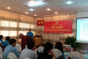 Công đoàn Xây dựng Việt Nam: Tập huấn công tác kiểm tra khu vực phía Nam
