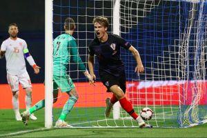 Cầu thủ Croatia 'dọa' đội tuyển Anh trước trận quyết đấu trên sân Wembley