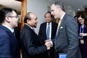Thủ tướng gặp mặt các doanh nghiệp hàng đầu Hoa Kỳ