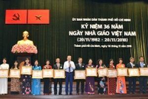Nhiều địa phương tổ chức kỷ niệm Ngày Nhà giáo Việt Nam (20-11)