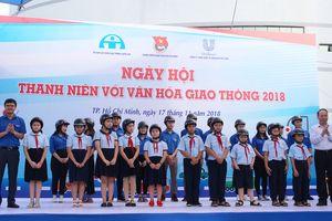 Hơn 1.000 đoàn viên, thanh thiếu nhi tham gia Ngày hội Thanh niên với văn hóa giao thông