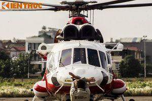 Ấn tượng màn trình diễn trên không của trực thăng Nga tại Hà Nội