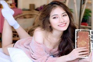 Vẻ nóng bỏng của tình mới kém Dương Khắc Linh 13 tuổi