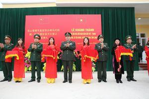 Mô hình đặc sắc của Quân đội hai nước láng giềng xã hội chủ nghĩa