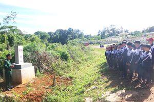 Triển khai Chương trình 'Tiết học vùng biên' tại xã Đắk Buk So