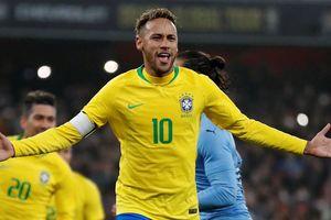 Neymar nổ súng, Brazil thắng nhẹ nhàng Uruguay