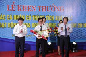 Đà Nẵng trao thưởng cho các nhà khoa học ĐH Duy Tân năm 2018
