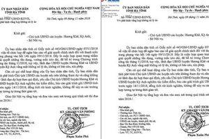 Hà Tĩnh phê bình 2 chủ tịch huyện vắng họp không lý do