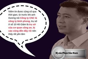 Bị cáo Phan Sào Nam khai gì về công ty bình phong của Bộ Công an?