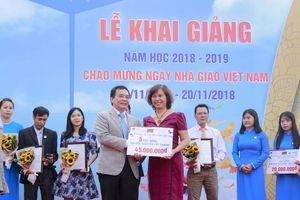 Hơn nửa tỷ đồng học bổng đến với sinh viên Trường ĐH Nguyễn Tất Thành