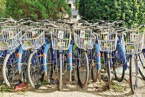 Dự án thí điểm xe đạp công cộng: 'Ế' khách vì thiếu sự kết nối