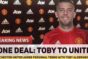 Mourinho nhất mực MU ký Toby Alderweireld, Man City tậu lính mới