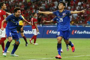Thái Lan 4-2 Indonesia: Người Thái lại có 'mưa bàn thắng'