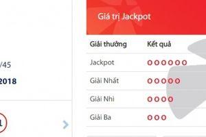 Xổ số Vietlott: Một người trúng giải Jackpot hơn 52 tỷ đồng