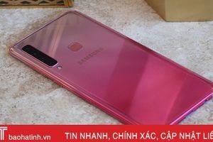 Samsung công bố giá bán smartphone 4 camera Galaxy A9 tại Việt Nam