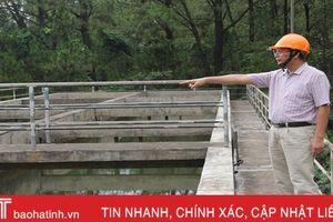 Hồ đập 'đói' nước, Hà Tĩnh chỉ đạo khẩn trương phòng chống hạn!