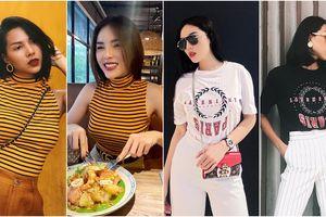 Gu thời trang 'đôi lứa xứng đôi' của cặp bạn thân Kỳ Duyên - Minh Triệu