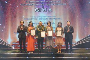 Vinh danh giải Báo chí toàn quốc 'Vì sự nghiệp Giáo dục Việt Nam' năm 2018