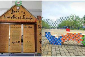 Phục sát đấy với loạt 'siêu phẩm' báo tường đầy sáng tạo chào mừng ngày nhà giáo Việt Nam 20/11