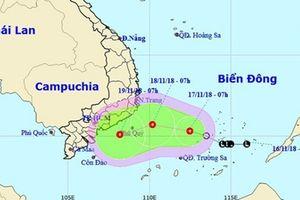 Chỉ đạo khẩn triển khai các giải pháp phòng tránh ứng phó áp thấp nhiệt trên Biển Đông