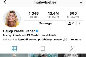 Hailey Baldwin chính thức đổi tên báo hiệu chuyện tình viên mãn đi đến hồi kết cùng Justin Bieber