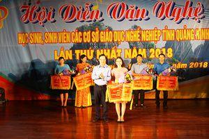Hội diễn văn nghệ học sinh, sinh viên các cơ sở giáo dục nghề nghiệp tỉnh Quảng Ninh