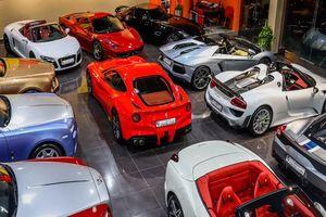 Ai sở hữu bộ sưu tập 7.000 chiếc siêu xe và xe sang?