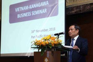 Tăng cường hợp tác kinh tế Việt Nam - Kanagawa