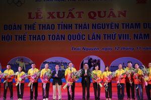 Thái Nguyên: Tổ chức Lễ xuất quân tham dự Đại hội Thể dục thể thao toàn quốc lần thứ VIII