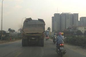 Cần sớm có biện pháp triệt để ngăn chặn xe quá tải trên địa bàn quận Hà Đông