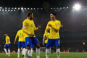 Toàn cảnh Brazil 1-0 Uruguay: Neymar tỏa sáng