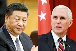 Phó Tổng thống Mỹ công khai 'đối đầu' Trung Quốc tại APEC