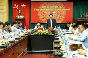 Phó Thủ tướng Vương Đình Huệ: Đừng cắt giảm thủ tục này lại 'cài cắm' thêm cái khác