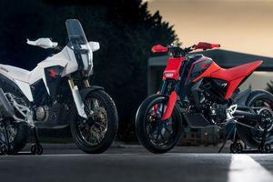Bộ đôi xe địa hình Honda CB125X và CB125M Concept ra mắt