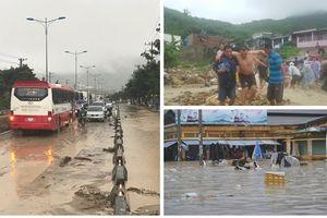 Áp thấp nhiệt đới gây mưa lớn tại Nam Trung Bộ, ít nhất 5 người chết do sập nhà