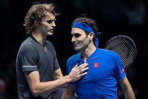 Sức trẻ lên ngôi, Zverev đánh bại Federer 2 - 0 ở bán kết ATP Finals