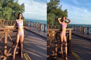 Hoa hậu Tiểu Vy diện bikini khoe thân hình nóng bỏng tại Miss World