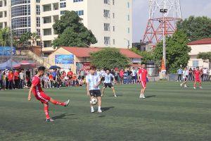 Sôi động giải bóng đá CNLĐ các khu công nghiệp Hải Phòng