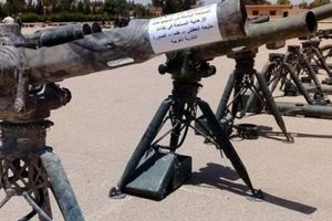 Quân đội Syria 'bóc tem' kho tên lửa Mỹ khủng bố bỏ lại