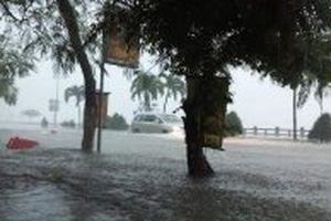 Hàng không khuyến cáo hành khách lưu ý ngập úng khu vực sân bay Cam Ranh