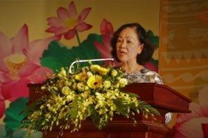 Đồng chí Trương Thị Mai dự lễ tôn vinh 88 gương sáng đời thường tại Lâm Đồng