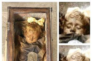 Lạnh người xác ướp hoàn hảo 100 năm sau vẫn nhấp nháy mắt