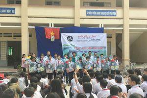 Đồng hành cùng học sinh nghèo vượt khó vùng biên giới Tây Ninh