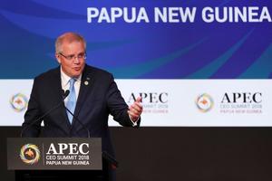 Chỉ trích chiến tranh thương mại Mỹ - Trung, Thủ tướng Australia ghi điểm tại APEC