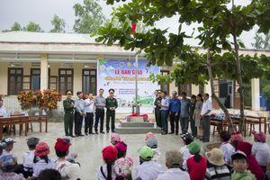 BĐBP Phú Yên bàn giao công trình 'Sân trường cho em'