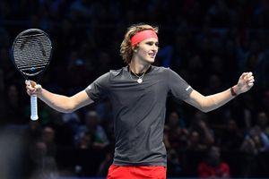 Hạ Federer, Zverev gặp Djokovic ở chung kết ATP Finals 2018