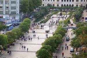 Đề xuất 'khóa' hẳn đường Nguyễn Huệ thành phố đi bộ