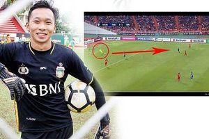 Đội nhà thua Thái Lan, CĐV Indonesia đổ lỗi cho thủ môn