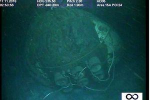 Hé lộ hình ảnh xác tàu ngầm Argentina mất tích cùng 44 thủy thủ